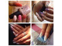 CND Shellac nails & more