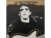 LOU REED 'TRANSFORMER' Original 1970s UK LP - NICE COPY