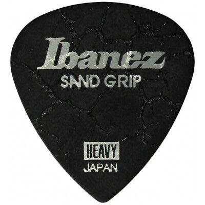 Ibanez Grip Wizard Sand Grip Crack Heavy Black Plek Plektrum Plektren Plektron