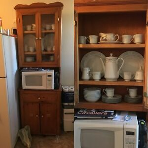 Microwave  cabinet (microwave not included)
