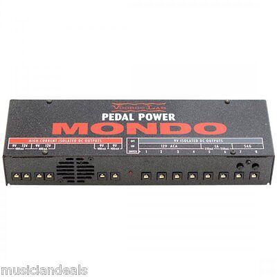 Купить Voodoo Lab Pedal Power MONDO Guitar FX Effects Pedal Power Supply NEW