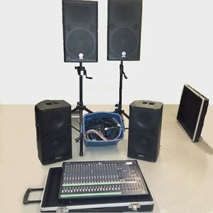 Full range of sound equipment Sound boards Snakes Speakers Strathcona County Edmonton Area image 1