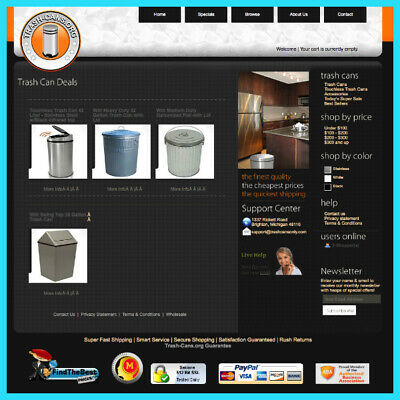 Established Drop Ship Home Decor Website That Has Generated Thousands In Revenue