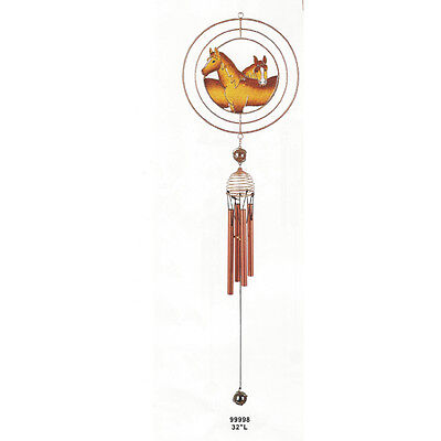 (Two Horses Wind Chime)