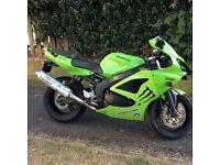 Kawasaki ninja zx6r 600cc. Hpi clear 14k miles. FSH. 1 year mot, PX welcome