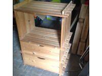 Shelving storage unit
