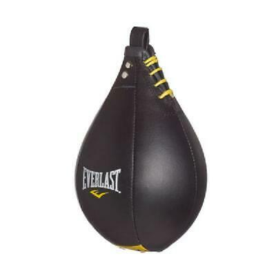 Everlast Leather Speed Bag Boxing MMA Workout Punching Training Fitness Large
