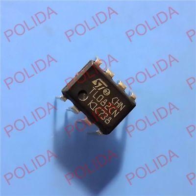 10pcs Op Amp Ic St Dip-8 Tl082cn