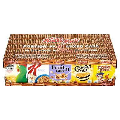 Kellogg's Cereal Single Portion Mixed Case - 35 New Packs - UK Breakfast Cereals Portion Case Pack