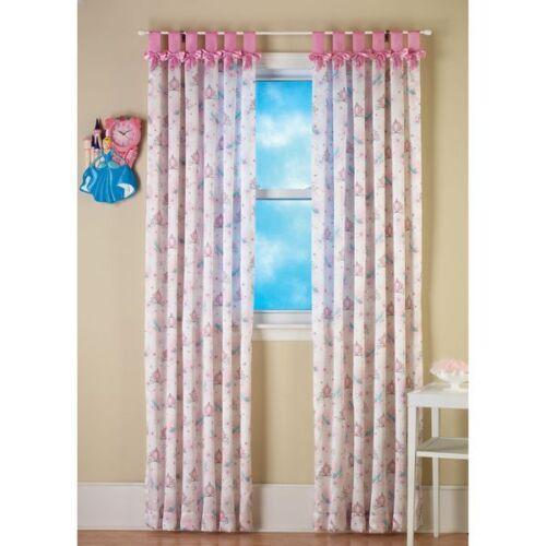 Disney Princess Enchantment ONE Bow Tab Window Panel 42x84 inches