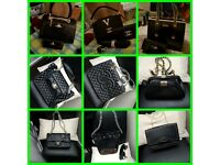 Chanel ted baker Vivienne Westwood hand bag and purse set Louis Vuitton