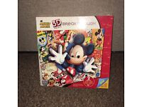 Mickey Mouse 3D jigsaw puzzle. Brand new in box.