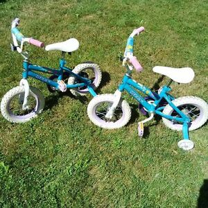 Huffy 12 Inch Bikes with Training Wheels