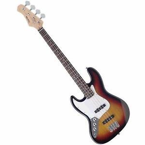 Gauchère basse lefty style Jazz bass B300LHSB        STAGG B300LH-SB
