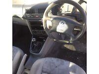VW Bora S 1.6 Petrol Manual White