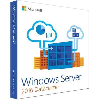 Windows Server 2016 Datacenter 64 Bit License Activation Key Instant Delivery
