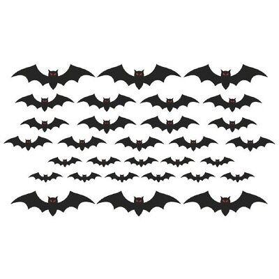 Mega Bat Cut Outs Value Pack Cemetery 30 Pc (Bat Cut Outs)