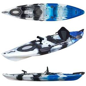 Feb sale Pro single fishing kayak with rudder paddle and seat North Lambton Newcastle Area Preview