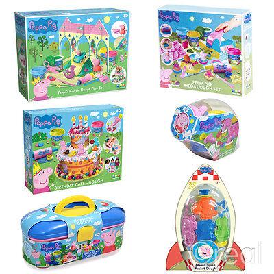 New Peppa Pig Picnic Cupcake Castle Or Mega Dough Play Doh Set Activity - Cupcake Castle