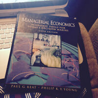 managerial economics book for sale