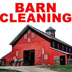 BARN CLEANING SERVICES Peterborough Peterborough Area image 1
