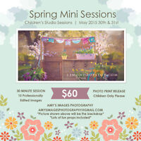 Next Weekend! Spring Mini Sessions - Amy's Images Photography