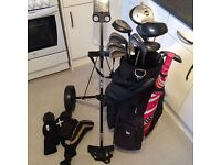 Full set of golf clubs - everything you need to go!
