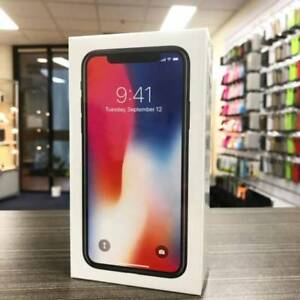 Brand new sealed iPhone X Space Grey 256G UNLOCKED AU MODEL Nerang Gold Coast West Preview