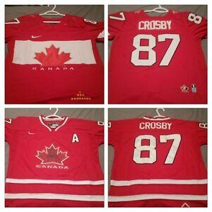 Team Canada Crosby Jerseys