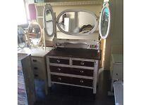 Old Vintage Dresser