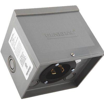 Generac 30-amp 125250-volt Raintight Resin Generator Power Inlet Box