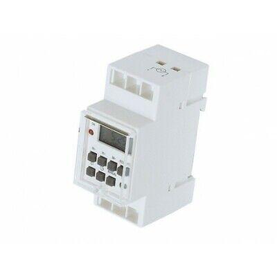 Semanas Interruptor Eléctrico Automático Digital Para Panel Montaje 230V Carril