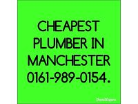 Plumbing, plumbers, emergency call outs, Manchester.