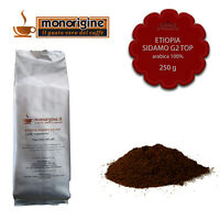 Caffè Arabica Macinato Fresco Per Espresso Etiopia Sidamo G2 Top 250 Gr -  - ebay.it