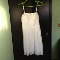 White summer dress, never worn