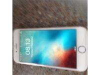 Apple iPhone 6 16gb unlocked white/gold