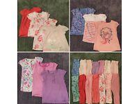 Girls Bundle Of Clothes - 9/12mths