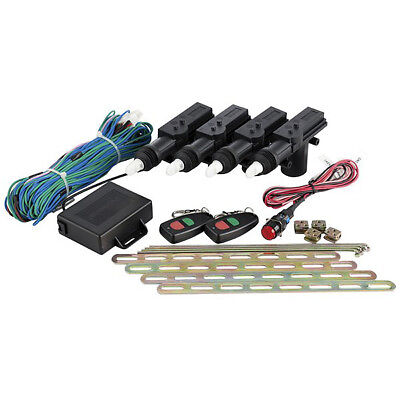 Response 4 Door Remote Controlled Central Locking Kit with Kill Switch