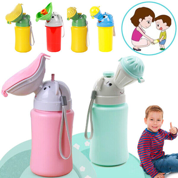 Portable Urinal Potty Baby Kids Children Car Travel Camping