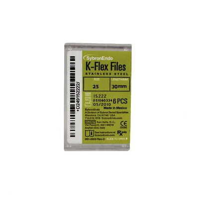 Kerr Sybron K-flex Files 30mm