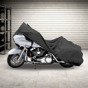 Superior Travel Dust Motorcycle Bike Cover Covers : Fits Up…1911