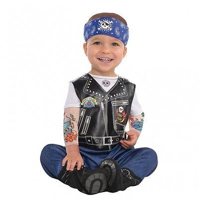 m Baby Biker Gr. 68 / 74 / 86 (Baby Biker Kostüm)