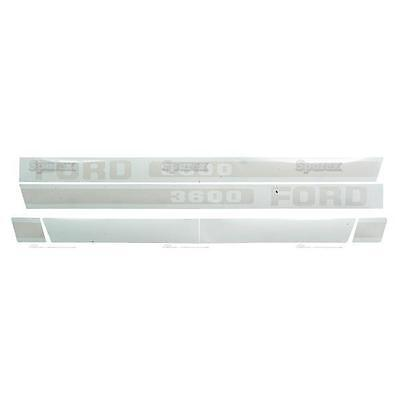 Ford 3600 Tractor Basic Hood Decal Set