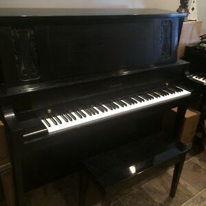 "Baldwin 52"" - Professional Upright Piano in Satin Black"