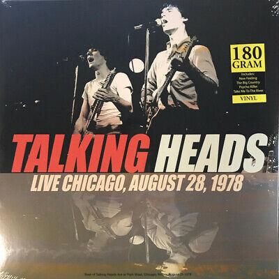 TALKING HEADS Best Of Live Chicago, August 28, 1978 Vinyl LP Lim. Edition 180
