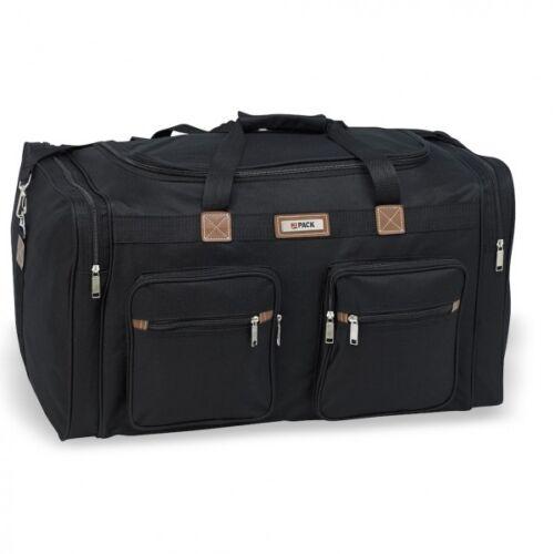 "New Hi-pack Travel Duffle Bag 18"" 22"" 25"" 28"" Luggage Black & Navy"