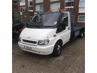 Recovery truck ford transit 2.4 TDCI (new engine/flywheel/clutch) 1 year MOT