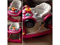 Baby girls walker from Mothercare