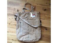 Reebok canvas bag, many ways. Unisex. Very spacious and stylish.