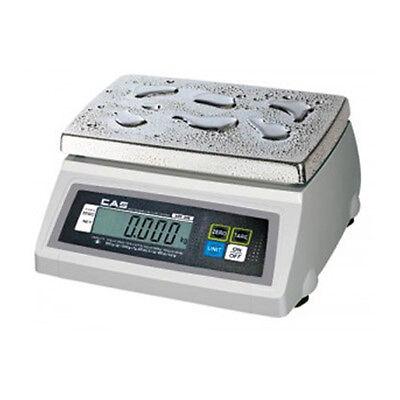 CAS SW-1WR 10lb Water Resistant Portion Control Scale 10 x .005 lb